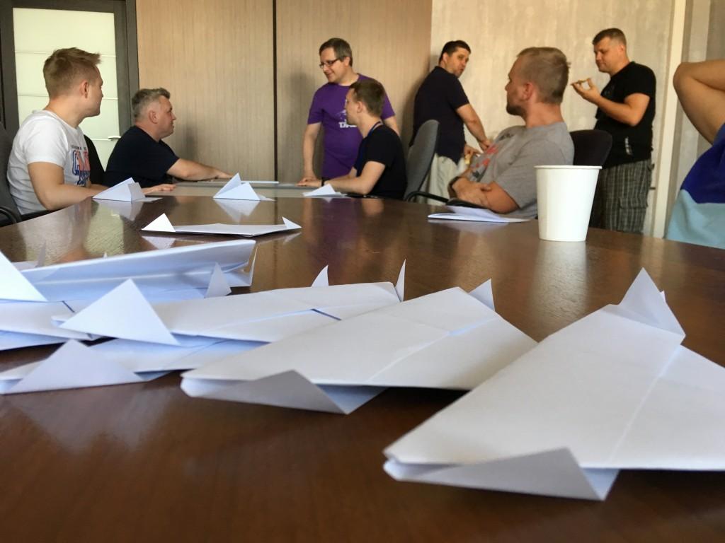 Setronica Workshop: управление потоком работы